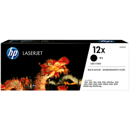 HP 12x High Yield Original LaserJet Toner Cartridge (Q2612X, Black)_1