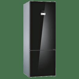 Bosch 559 L 2 Star Frost Free Double Door Inverter Refrigerator (KGN56LB40I, Black)_1