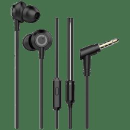 Blaupunkt In-Ear Wired Earphones with Mic (EM10, Black)_1