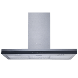 Faber Grand SS TC 90 1000 m³/hr 90cm Wall Mount Chimney (Electronic Touch Control, 325.0484.057, Stainless Steel)_1