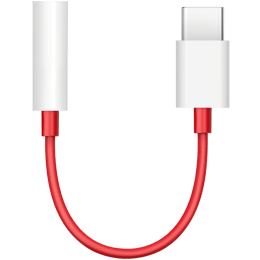 OnePlus USB 3.0 (Type-C) to 3.5mm Cable (1091100049, White)_1
