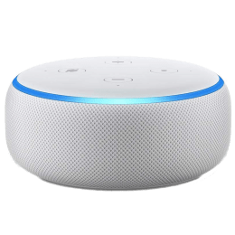 Amazon Echo Dot 3rd Generation Smart Speaker (B07PGL2ZSL, White)_1
