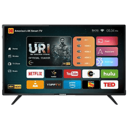Kodak 109 cm (43 inch) 4k Ultra HD LED Smart TV (43UHDXSMART, Black)_1