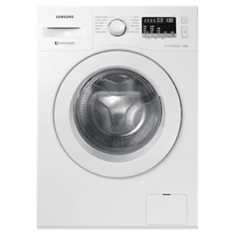 Samsung 6 kg Fully Automatic Front Loading Washing Machine (WW60R20EKMW, White)_1