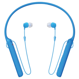 Sony WI-C400 In-Ear Bluetooth Earphones with Neckband (Blue)_1