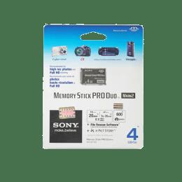 Sony Stick Pro Duo 4 GB Memory Card (Black)_1
