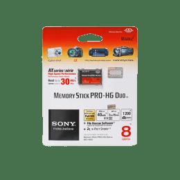 Sony Pro Duo 8 GB Memory Card (Black)_1
