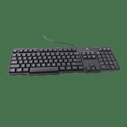 Logitech Classic K100 Keyboard (Black)_1