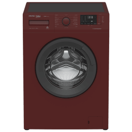 Voltas Beko 6 kg Fully Automatic Front Loading Washing Machine (WFL60, Bordeaux)_1