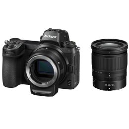 Nikon Z6 24.5 MP Mirrorless Camera Body with 24 - 70 mm Lens (VOK020VN, Black)_1