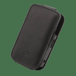 KingCom Fabric Mobile Phone Pouch for BlackBerry Gemini 8520 (Black)_1