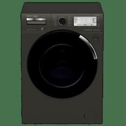 Voltas Beko 10 kg Fully Automatic Front Loading Washing Machine (WFL100MA, Black)_1