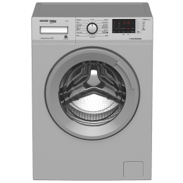 Voltas Beko 6.5 kg Fully Automatic Front Loading Washing Machine (WFL65, Grey)_1