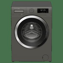 Voltas Beko 8 kg Fully Automatic Front Loading Washing Machine (WFL80M, Manhattan Grey)_1