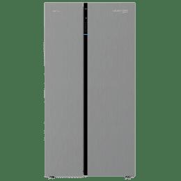 Voltas Beko 640 L Double Door Side-by-Side Refrigerator (RSB66IF, Inox)_1