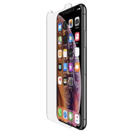 Belkin ScreenForce Tempered Glass Screen Protector for Apple iPhone X (F8W861zz, Transparent)_1