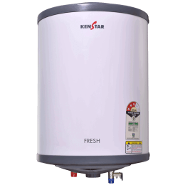 Kenstar Fresh 6 Litres 4 Star Storage Water Geyser (2000 Watts, KGSFRE06GP8VGN-DSE, White/Grey)_1