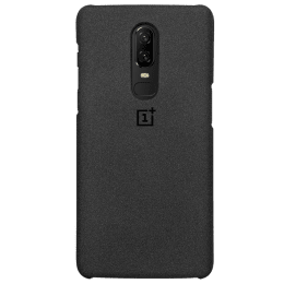 OnePlus 6T Protective Polycarbonate Back Case Cover (5431100063, Sandstone)_1