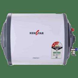 Kenstar Fresh 10 Litres 3 Star Storage Water Geyser (2000 Watts, KGSFRE10GP8HGN-DSE, White/Grey)_1