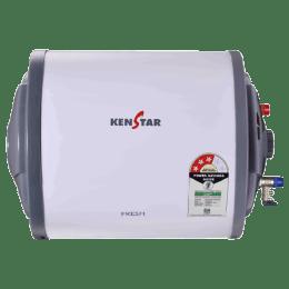 Kenstar Fresh 25 Litres 3 Star Storage Water Geyser (KGSFRE25GP8HGN-DSE, White/Grey)_1