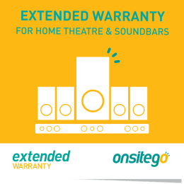 Onsitego 1 Year Extended Warranty for Home Theatre & Sound Bar (Rs.150,000 - Rs.200,000)_1