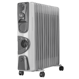 Usha 2900 Watt Oil Filled Room Heater (3211 F PTC Residential, White)_1