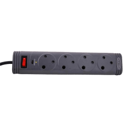 Belkin 2M 4 Outlet Surge Protector (F9T400ZB, Grey)_1