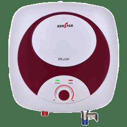 Kenstar Splash 15 Litres 5 Star Storage Water Geyser (2000 Watts, KGSSPL15MP8VGN-DSE, Maroon/White)_1