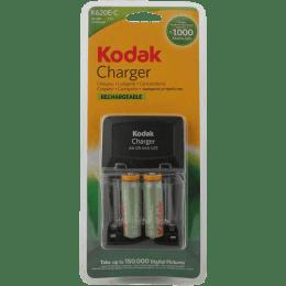 Kodak 2100 mAh Camera Battery Charger with 2 Batteries (K620c, Black)_1