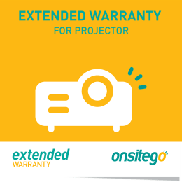 Onsitego 1 Year Extended Warranty for Projector (Rs.10,000 - Rs.20,000)_1