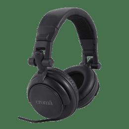 Croma Over-Ear Headphones (CREA4069, Black)_1