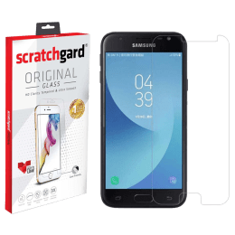 Scratchgard Tempered Glass Screen Protector for Samsung Galaxy J4 Plus (Clear)_1