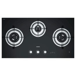 Siemens iQ700 3 Burner Hard Glass Built-in Gas Hob (7-segment Display, ER95331IN, Black)_1