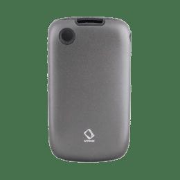 Capdase Metal Back Case Cover for BlackBerry 8520/9300 (MTBB8520-51GG, Black)_1