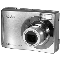 Kodak 8.2 MP Point & Shoot Camera (CD14, Silver)_1