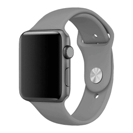 Robobull 38/40 mm Silicone Apple Watch Strap (3770000087, Cloudy)_1