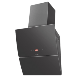 Faber Mirror Plus BK TC LTW 1000 m³/hr 90cm Wall Mount Chimney (Touch Control, 110.0393.700, Black)_1