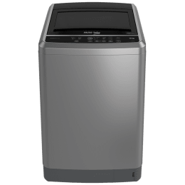 Voltas Beko 9 kg Fully Automatic Top Loading Washing Machine (WTL90S, Silver)_1