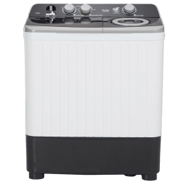 Haier 6.5 kg Semi Automatic Top Loading Washing Machine (HTW65-186S, Grey)_1