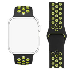 Robobull 42/44 mm Nike Sports Apple Watch Strap (3770000095, Green)_1