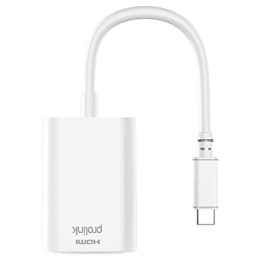 Ultraprolink USB 3.0 (Type-C) to HDMI (Type-A) HDMI Cable (MP400, White)_1