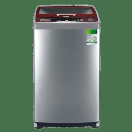 Haier 6.5 kg Fully Automatic Top Loading Washing Machine (HWM65-707NZP, Grey)_1