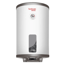 Hindware Atlantic Cristallo 15 Litres 5 Star Rating Storage Water Heater (2000 Watts, HSWHCR15WM2VGL, White)_1