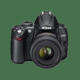 Nikon 12.3 MP DSLR Camera Body with 18 - 55 mm Lens (D5000, Black)_1