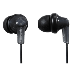 Panasonic In-Ear Wired Earphones (RP-HJE120-K, Black)_1