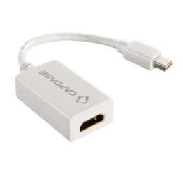 Capdase 220 cm HDMI (Type-A) to Mini Display Port HDMI Cable (White)_1