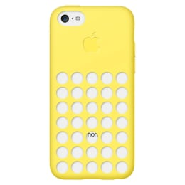 Apple iPhone 5C Silicone Back Case Cover (MF038ZM/A, Yellow)_1