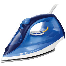 Philips EasySpeed Plus 2200 Watts 270ml Steam Iron (Durable Ceramic Soleplate, GC2145/20, Blue)_1