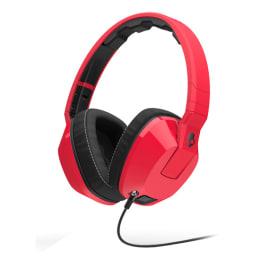 Skullcandy Hphone Crusher Red/Blk w/mic_1