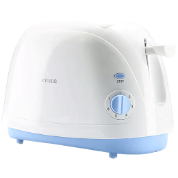 Croma 800 Watt 2 Slice Pop Up Toaster (CRAK6092, White)_1